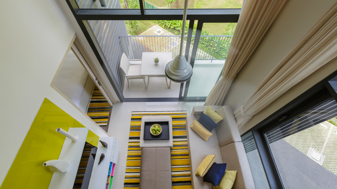 Cassia_Phuket_one_bedroom_loft_view_garden