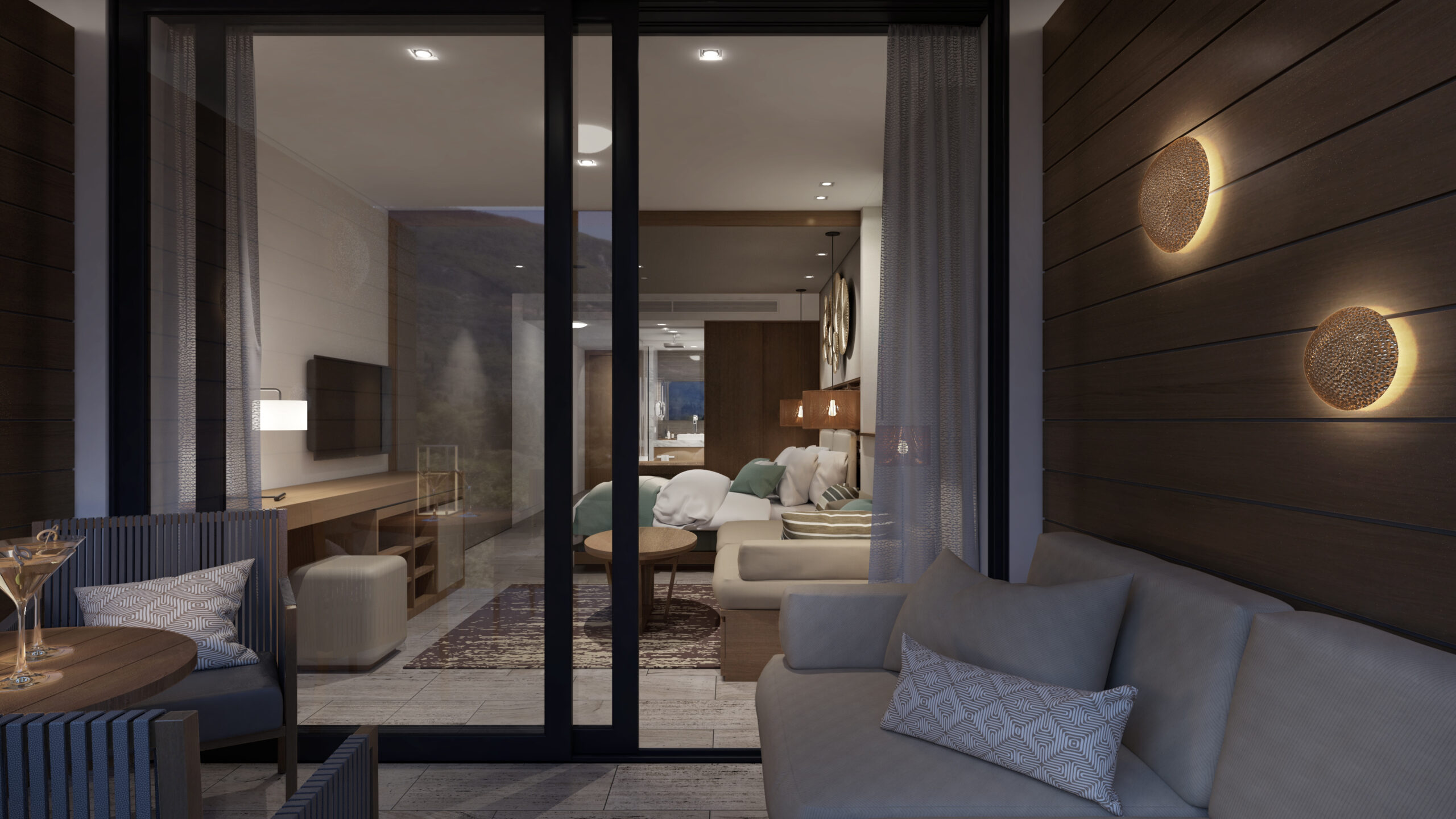 2. Grand Room King, Sea View or Hill View