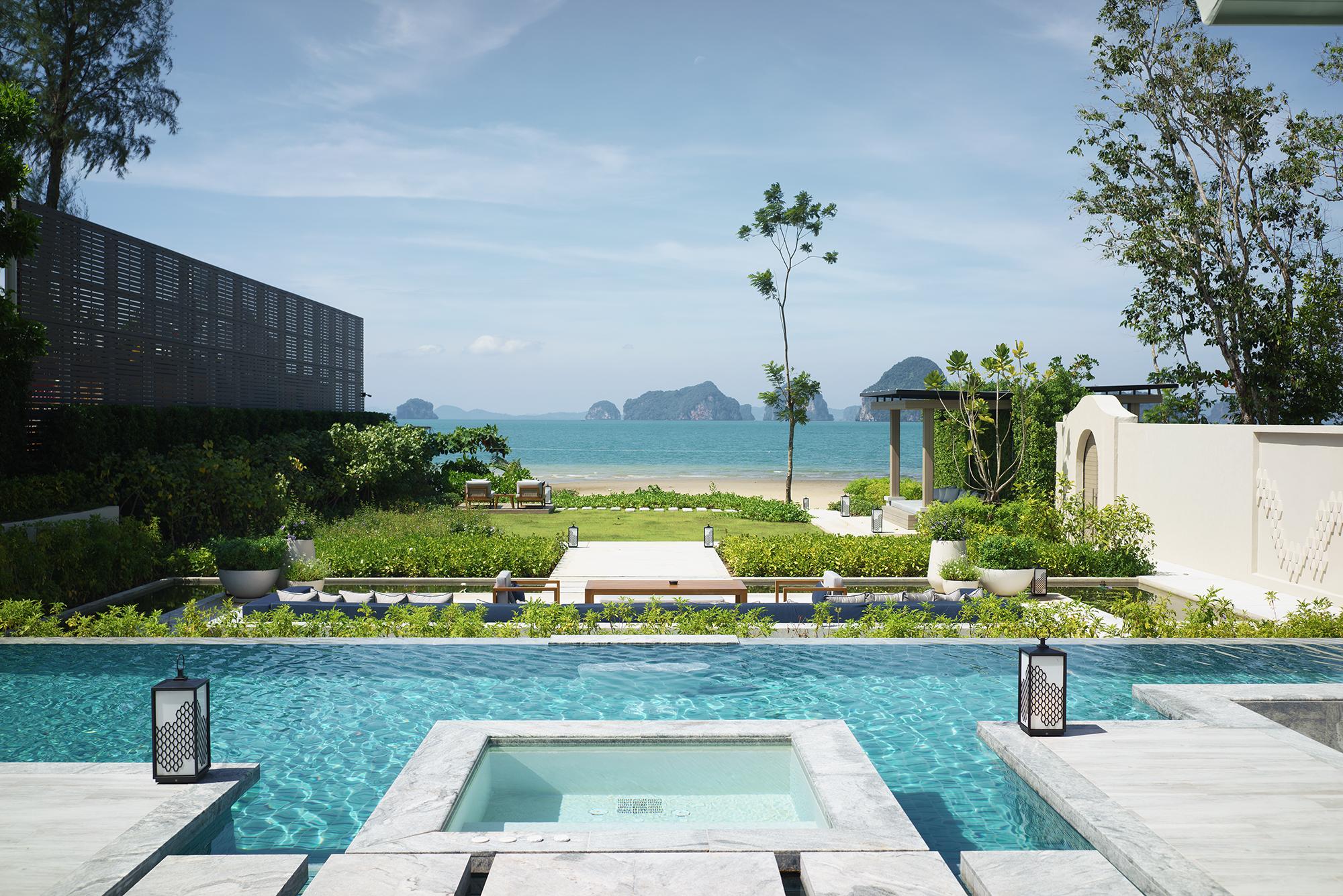 Presidential Beachfront Pool Villa 1