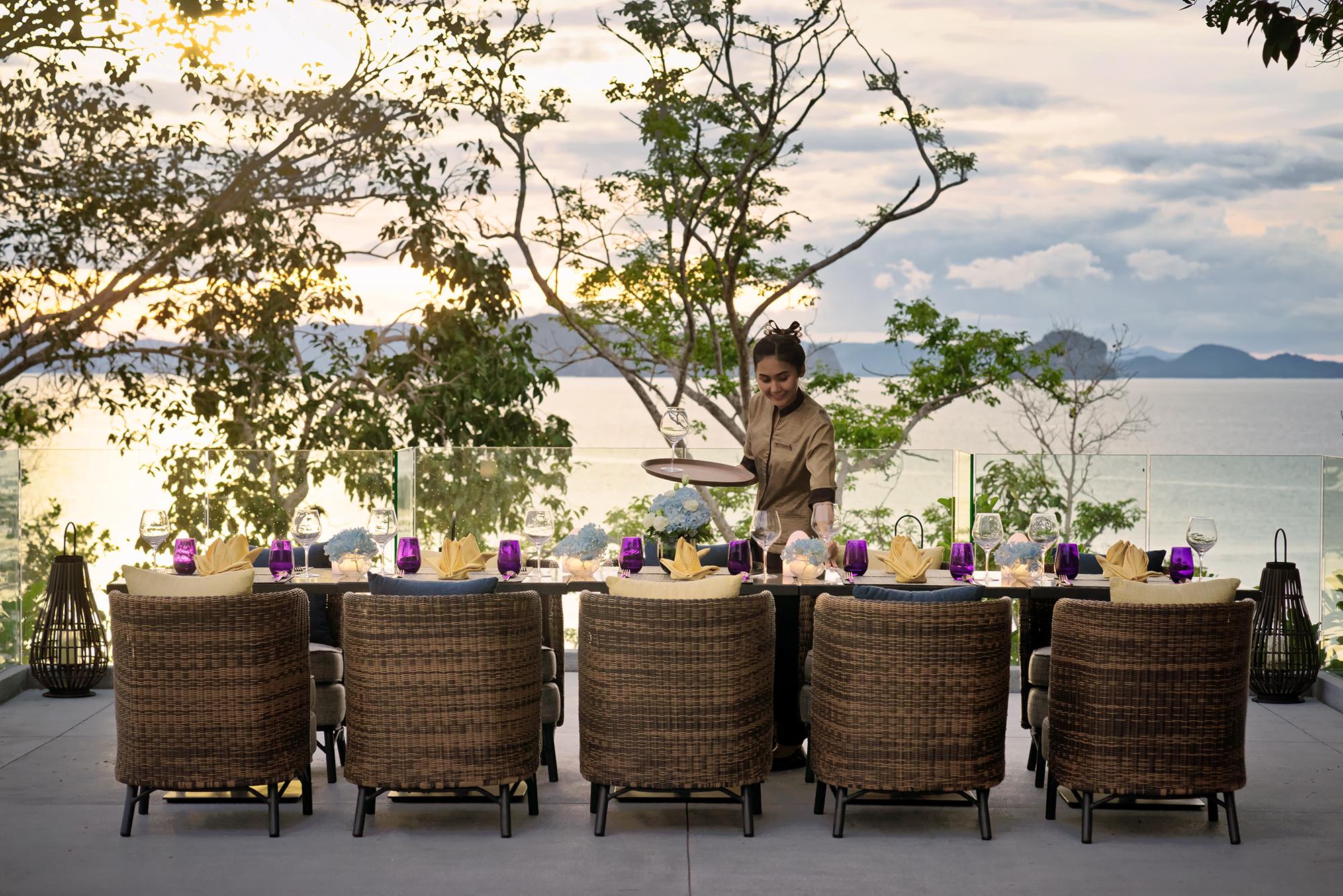 Sunset Wedding Deck 1